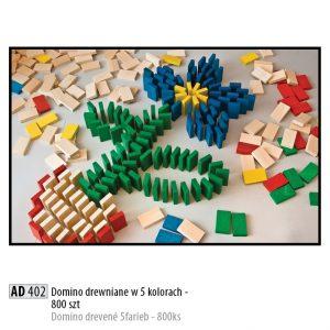 Drevené kocky pre deti AD402