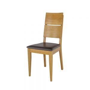 Stolička dubová KT373