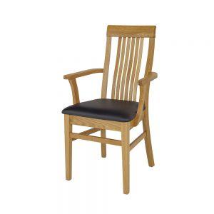 Stolička dubová KT378