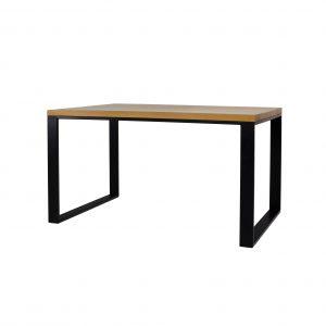 Stôl kovovo - dubový ST373