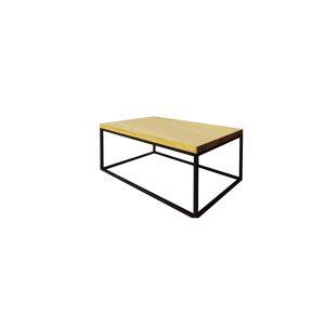 Stôl kovovo - dubový ST375