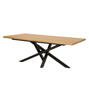 Stôl kovovo - dubový ST377